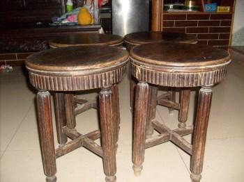 榉木圆凳-收藏网