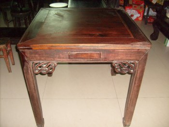 红木麻将桌2-收藏网