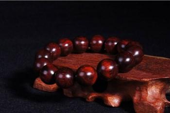 极品印度小叶紫檀佛珠手串 14mm顶级老料高密度高性价比-收藏网