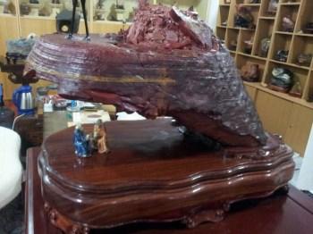 奇石 茶叶 化石-收藏网