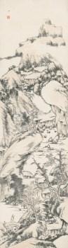 清-八大山人-山水-收藏网