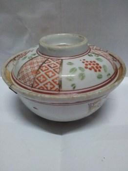民国釉上彩盖碗 -收藏网