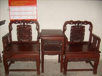 红木八仙太师椅-收藏网
