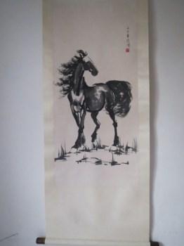 徐悲鸿《马》-收藏网