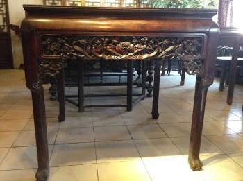 老红木大尺寸八仙桌-收藏网