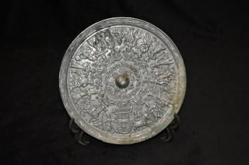 隋唐人物车马人物纹铜镜-中国收藏网