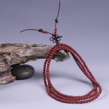 天然印度小叶紫檀手串 精美红木手串216-收藏网