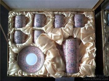 浮雕:万寿无疆(孝庄大玉儿)13头茶具精品(红)-中国收藏网