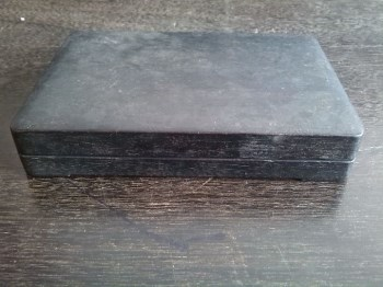 民国带有墨盒的端砚-收藏网
