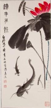 齐氏双绝《吉庆有余》-中国收藏网