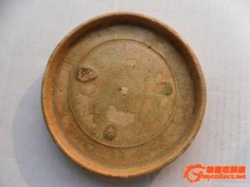 出土大开门原汁原味南朝洪州窑托盘-中国收藏网
