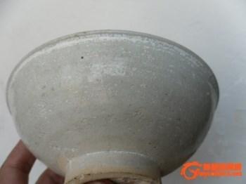 包老出土开门完整无缺北宋青白瓷碗-收藏网