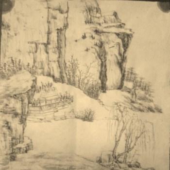 山水小品-中国收藏网