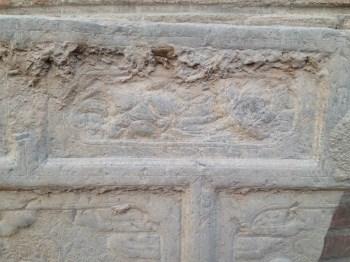 乡下收的石板人物雕刻-中国收藏网