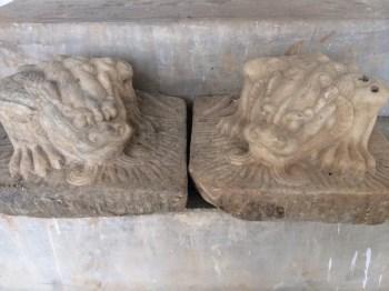 汉白玉石兽-中国收藏网