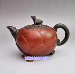 荷塘月色紫砂壶-中国收藏网