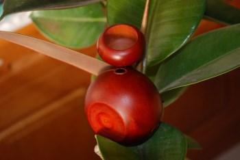 精美老红木牙签手工雕花小罐-收藏网