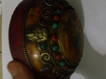 琥珀蜜蜡千宝碗-收藏网