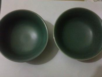 青釉小碗(一对)-收藏网