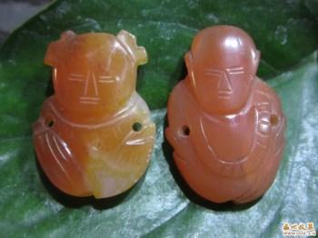 一对明清国玉器-中国收藏网
