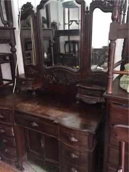 红木镜台-收藏网
