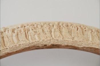 天然猛犸牙制牙雕八十七神仙卷-中国收藏网