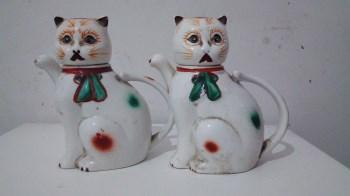 文革猫壶一对-中国收藏网
