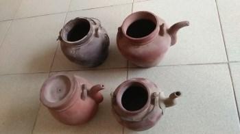四个有残紫砂壶-中国收藏网