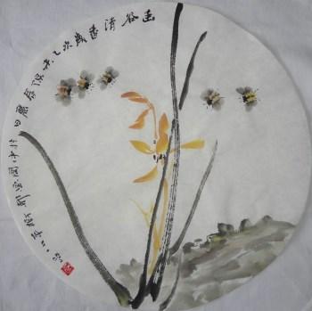 山东画家张淑平花鸟画小品软片-收藏网