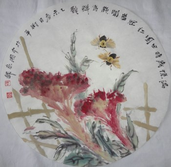 山东画家张淑平国画花鸟画小品-收藏网