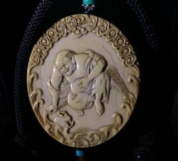 清-牙雕刘海戏金蟾-收藏网