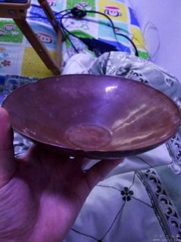 北宋紫定柿釉大碗-收藏网