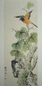 张淑平精品花鸟画扇面-中国收藏网