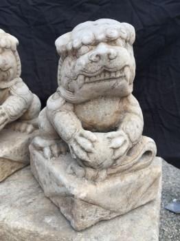 案头石雕狮子-中国收藏网