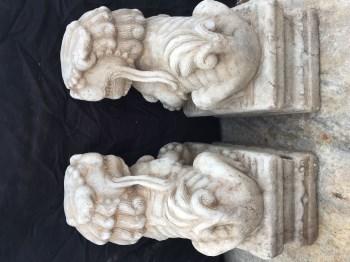 镇宅石雕狮子-中国收藏网