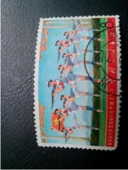 文革邮票2文献,文5红色娘子军盖章上品-收藏网