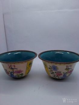 一对铜胎小杯-中国收藏网
