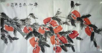 当代著名山水画家程振铎国画小品-中国收藏网