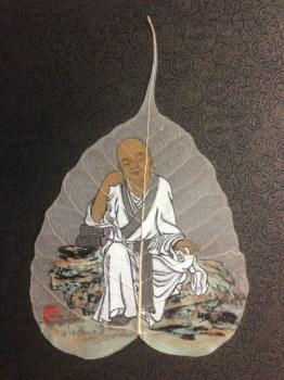 张淑平精品国画菩提叶系列-中国收藏网