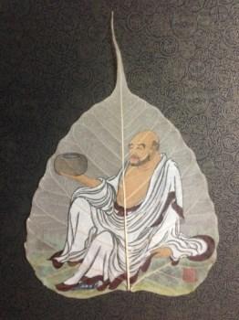 张淑平精品国画小品菩提叶系列-中国收藏网