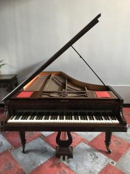 古董法国三角钢琴-收藏网