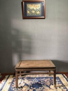 清早期柏木带束腰罗锅枨禅凳-收藏网