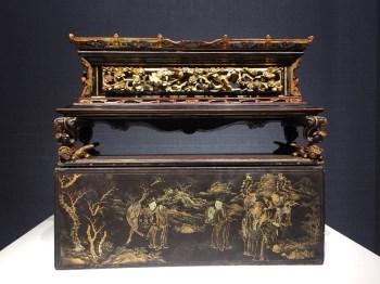 清代楠木漆器圣旨匣-收藏网