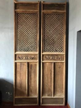 清早期老门窗屏风-收藏网