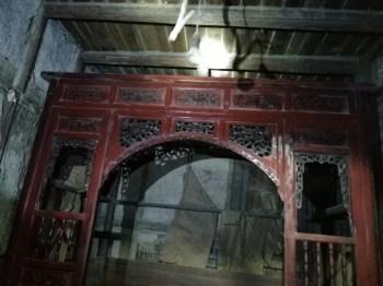 清代乾隆年间雕花老床(第一件)-收藏网