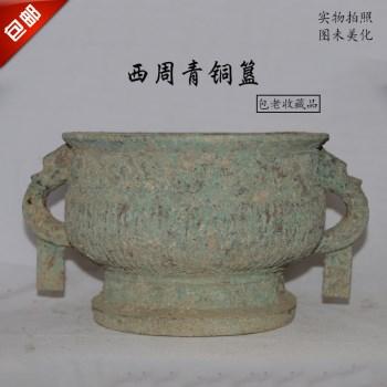 青铜器西周青铜簋归盆古董古玩收藏真品包老物件-收藏网