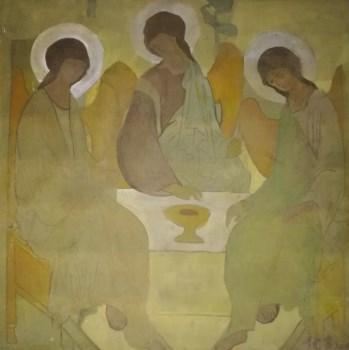 著名油画家厚木板油画《无题》-收藏网