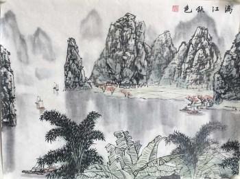 S1-25漓江秋色-收藏网