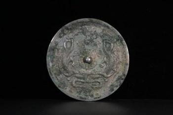 汉代 双龙纹铜镜-收藏网