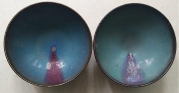 钧瓷小碗一对-收藏网